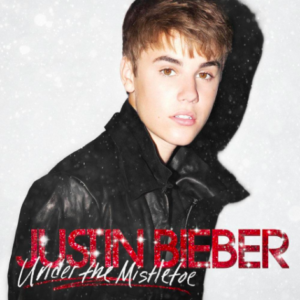 10 meilleurs albums de noel - manzana music - Justin Bieber Under the Mistletoe