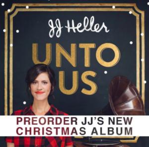 10 meilleurs albums de noel - manzana music - JJ Heller Unto Us